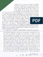 Texte Capes Sartre