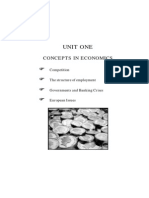 Concepts in Economics.