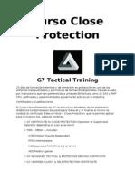 Curso Close Protection G7