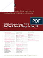 Coffee & Snack Shops in the US Industry Report