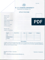 Cv Raman Application