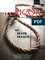 The LEXICON - Taylor's Law School's Legal Newsletter (2013)