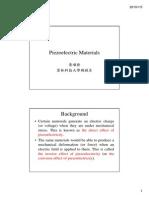 Piezoelectric Materials 1