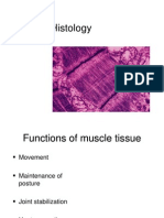 Lecture 10 Muscle Histology