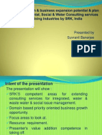 PPT for Development of Consulting Unit for Environment