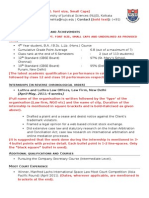 NUJS Model CV- Explanatory