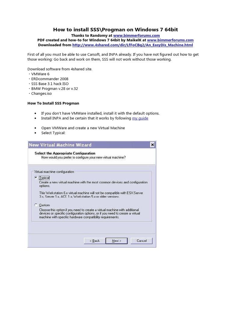 How to Install SSS Progman on Windows 7 64bit | Windows Registry
