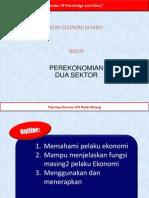 Pertemuan 3 Perekonomian 2 sektor
