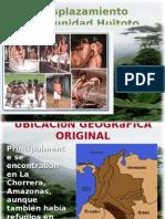 Desplazamiento Cultura Huitoto