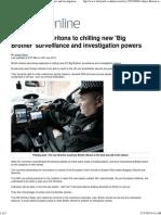 Spying - EU Plans Big Bro Surveillance, Investigation Power