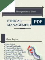 quality management ethics