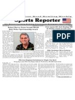 September 25 - 30, 2013 Sports Reporter