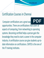 Looking IT Courses in Chennai