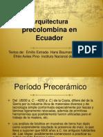 Arquitectura Precolombina en Ecuador