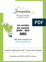 Sujet Corrige Decf Uv5a 2003