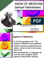 Organon Hahnemann