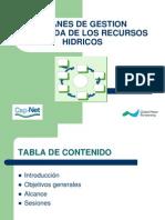 Planes de Gestión Integrada de Recursos Hídricos