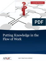 apqc_KnowledgeinFlow