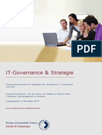 Leaflet Certified Experte IT Governance 2013