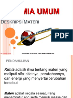 1.Klasifikasi materi