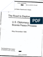 The Road to Dayton - U.S. Diplomacy and the Bosnia Peace Process, May-December 1995