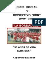 Club Social y Deportivo Sur - Cayambe, Ecuador - Pablo Guaña
