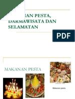 Makanan Pesta, Darmawisata Dan Selamatan