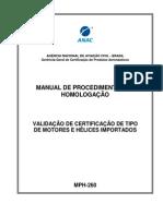 Certificação de Produtos Aeronáuticos