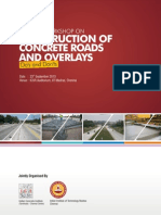 Construction of Concrete Roads and Overlays - Do's and Don'Ts Brochure Final