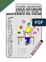 4. AGOSTO – ARITMÉTICA – 5TO numeracion conteo 4operaciones