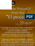 Procesal II - i El Proceso.ppt