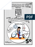 MAYO –  QUIMICA - 5TO