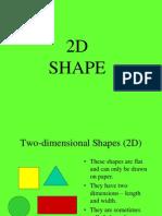 2D shape