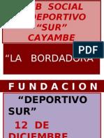 Club Social y Deportivo Sur - Cayambe - Pablo Guaña