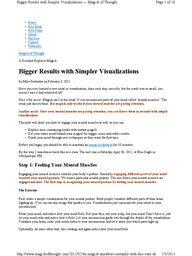 Bigger Results With Simpler Vis - Unknown | Mental Image