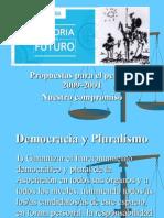 Propuestas 2009-2011