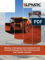 Mining; Leveraging From Backward and Forward Linkages for Diversified Growth and Wealth Creation