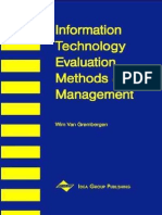 Wim Van Grembergen-Information Technology Evaluation Methods and Management -Idea Group Publishing(2001)