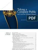 Taken Your Company Public