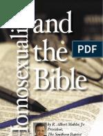 Homosexuality Bible