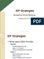 IEP Strategies Navigating School Meetings