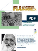 Rise of Popular Movements