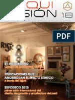 ArquiVision N°18 - Colegio de Arquitectos del Perú