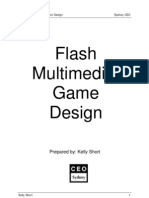 Flash Multimedia Game Design