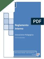 Reglamento Interno Del Aula de Innovaciones 2012