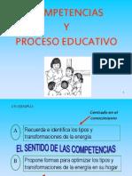 Competencias y Proceso Educativo