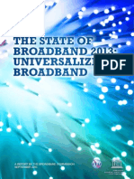 """State of the World Broadband Report 2013″"