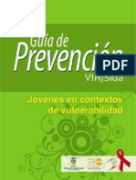 Guia de Prevencion VIH Jovenes en Contextos de Vulnerabilidad