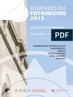 Luxembourg Heritage Days 2013