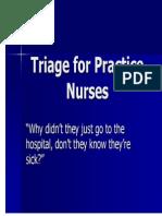 TRIAGE for Practice Nurses